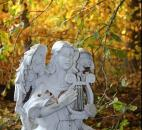 Jeanne Stefanko entered this photo of an angel statue at the beginning of the wooded path at their home at Tri Lakes-Big Cedar.