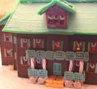 The Johnson families submission to the 2013 Festival of Gingerbread. (Photo by Jaclyn Goldsborough of The News-Sentinel)