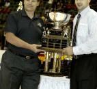 Colin Chaulk was named the Komets' MVP in April 2006 after ending the season leading the team in both points and assists for the second straight season. (News-Sentinel file photo)