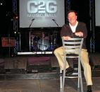 The Rev. Mark Minnick started Come2Go Ministries 10 years ago. The ministry serves those in need, such as the homeless and troubled youth, while the music hall brings in a wide array of secular musical acts.