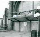 Taken March 20, 1991, the Baker Street Station is shown boarded up after Amtrack closed the station. (Photo by The News-Sentinel)