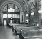 The Baker Street Station stand empty on Nov. 28, 1984. (Photo by The News-Sentinel)