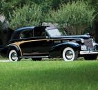 A 1940 Cadillac Series 75 Town Car is estimated to sell between $175,000 - $250,000. (Courtesy photo from Worldwide Auctioneers)