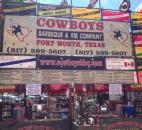 Cowboys BBQ and Rib Company travels from Fort Worth, Texas, to compete in Fort Wayne's Ribfest at Headwater Park.