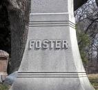 "During his three years of military service, Col. David N. Foster (1841-1934) fought in the battles of Gettysburg and Fredericksburg. After the war, Foster's lengthy involvement with the Parks Board earned him the title, ""Father of the Fort Wayne Parks System."""