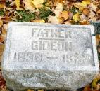 "Private Gideon Kennedy served in the 19th Indiana Volunteer Regiment, which was also known as the ""Black Hat Brigade."""