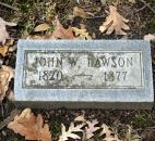 John Dawson (1820-1877) was the editor of the fort Wayne Daily Times. In 1861, he spoke against the presence of Camp Allen. He believed it would encourage further debauchery in the city.