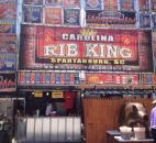 "Solomon Williams, owner of Carolina Rib King from South Carolina, brought along a mustard-based sauce this year to try on his wide variety of pork and chicken. ""Everything's my specialty,"" Williams said. ""I give love with all of it."""