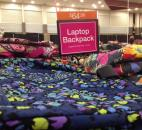 The Vera Bradley Outlet Sale features everything from purses to bagpacks. (Photo by Jaclyn Goldsborough of The News-Sentinel)