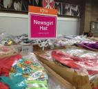 "A ""Newsgirl hat"" is features at The Vera Bradley Outlet Sale. (Photo by Jaclyn Goldsborough of The News-Sentinel)"