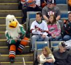 Fort Wayne Komets' mascot Icy D. Eagle celebrates 20 years