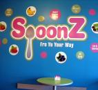 SpoonZ in Orchard Crossing is one of many self-serve frozen yogurt shops that opened here in 2012. Photo by Cindy Larson