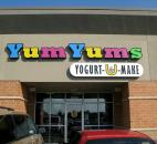 "YumYums in Chapel Ridge is one of several self-serve frozen yogurt shops that opened here in 2""""2. Photo by Cindy Larson"