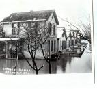 Water from the St. Marys River flooded residences on the corner of Jackson and Greely streets. (News-Sentinel file photo)