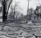 The pavement on St. Joe Boulevard was destroyed by the flood. (News-Sentinel file photo)