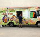 Fort Wayne saw the emergency of several food trucks in 2012, including JumBy's JoiNt. Photo by Cindy Larson