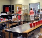 The new St Mary's Catholic Church Soup Kitchen has a lot more room for the church's soup kitchen mission. Photo by Ellie Bogue