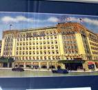 A picture of how the Indiana Hotel appeared in its early days hangs on the wall of the Embassy Theatre-Indiana Hotel hallway on the second floor.