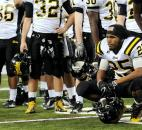 Snider's Tyrell Swain looks on after the Panthers' loss in the Class 5A title game. Photo by Rob Edwards