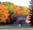 Nancy Mann entered this photo of a red barn taken Oct. 8 in Leelenau County, Mich.
