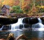 Chris Kessens, who was declared the winner of the contest by judges, entered this photo of the Glades Creek grist mill in Babcock State Park in West Virginia.