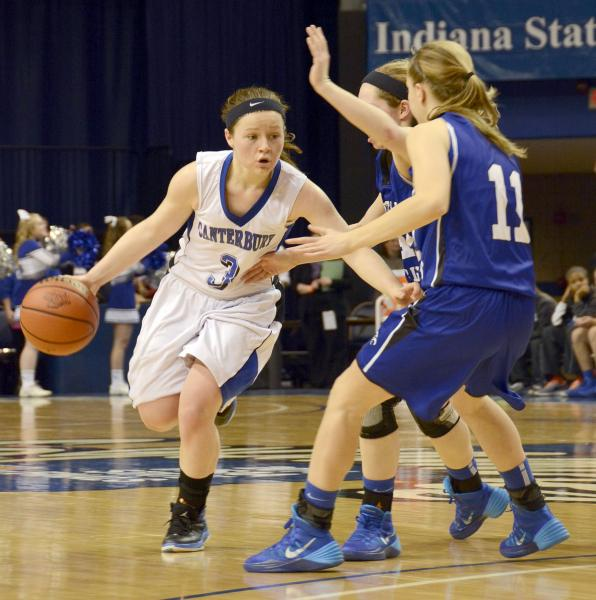 Canterbury Girls Basketball team comes up short in bid for ...